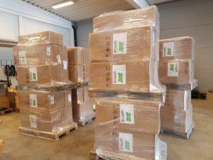 400 nye stoler til teltet