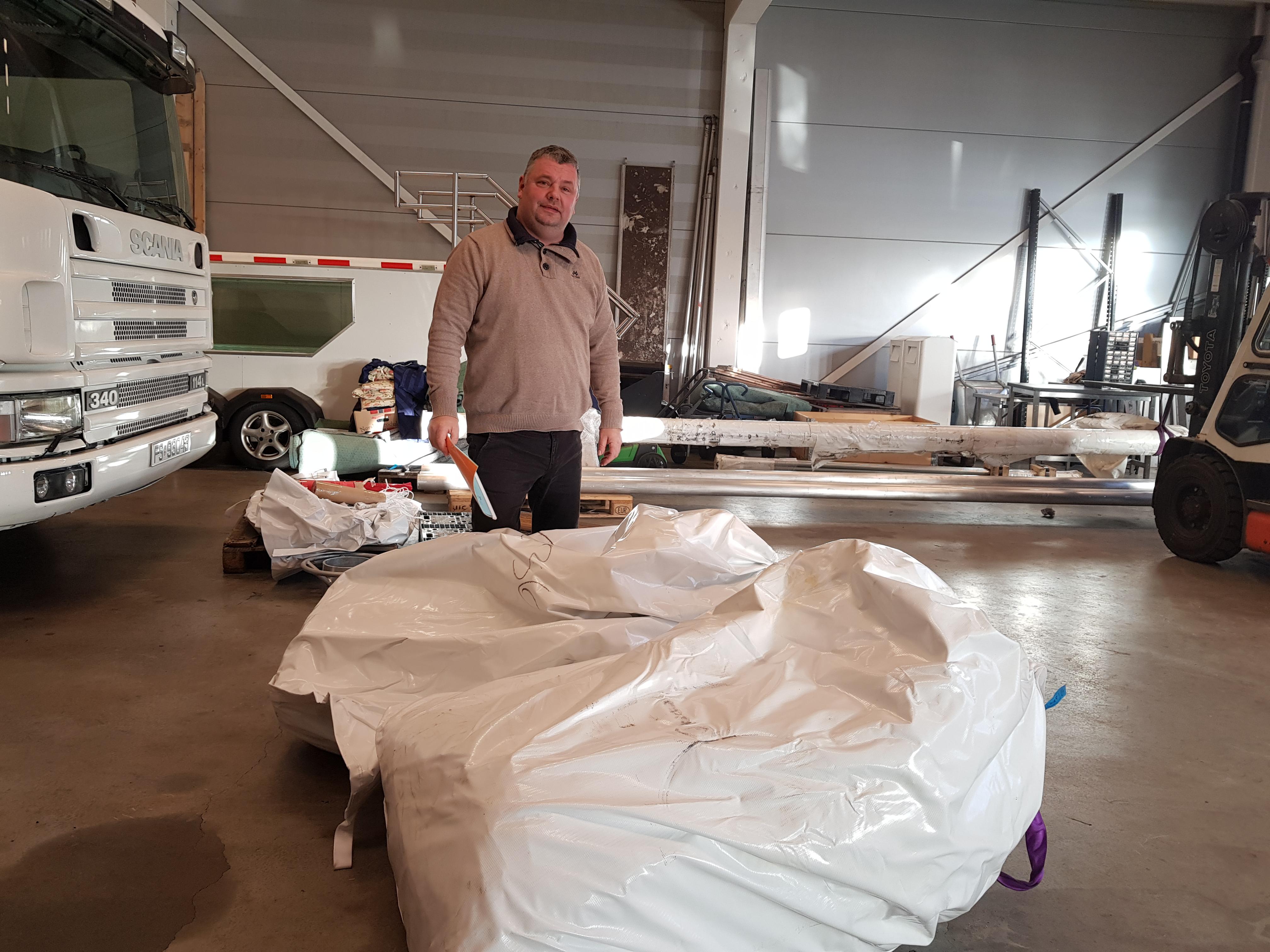 Den nye telt seksjonen er ankommet!