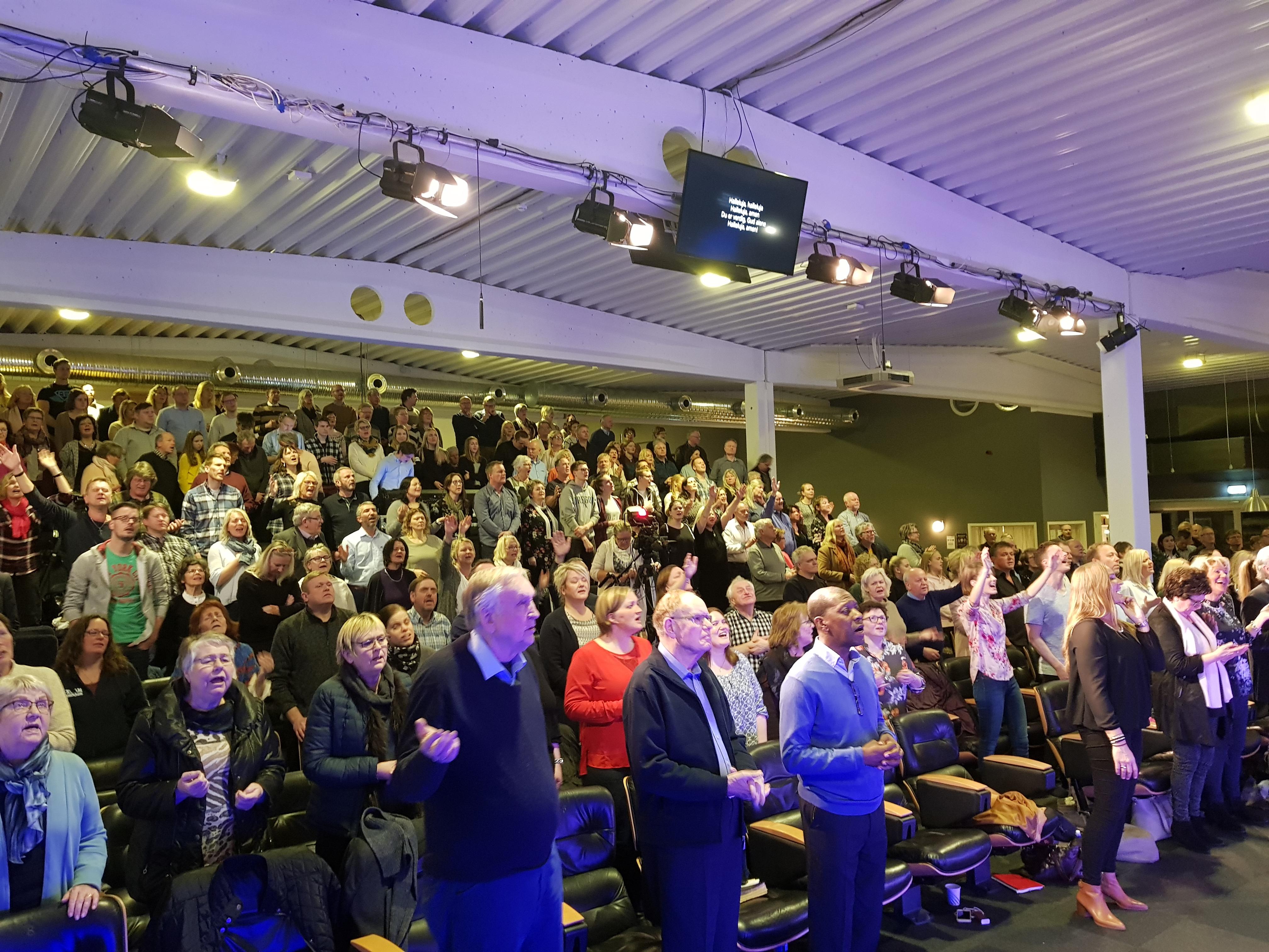 Fantastisk vekkelseskonferanse på EFA-senteret!