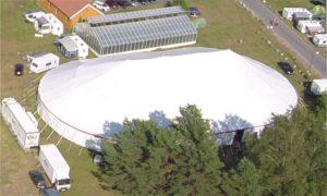 Vi kjøper større telt – igjen!