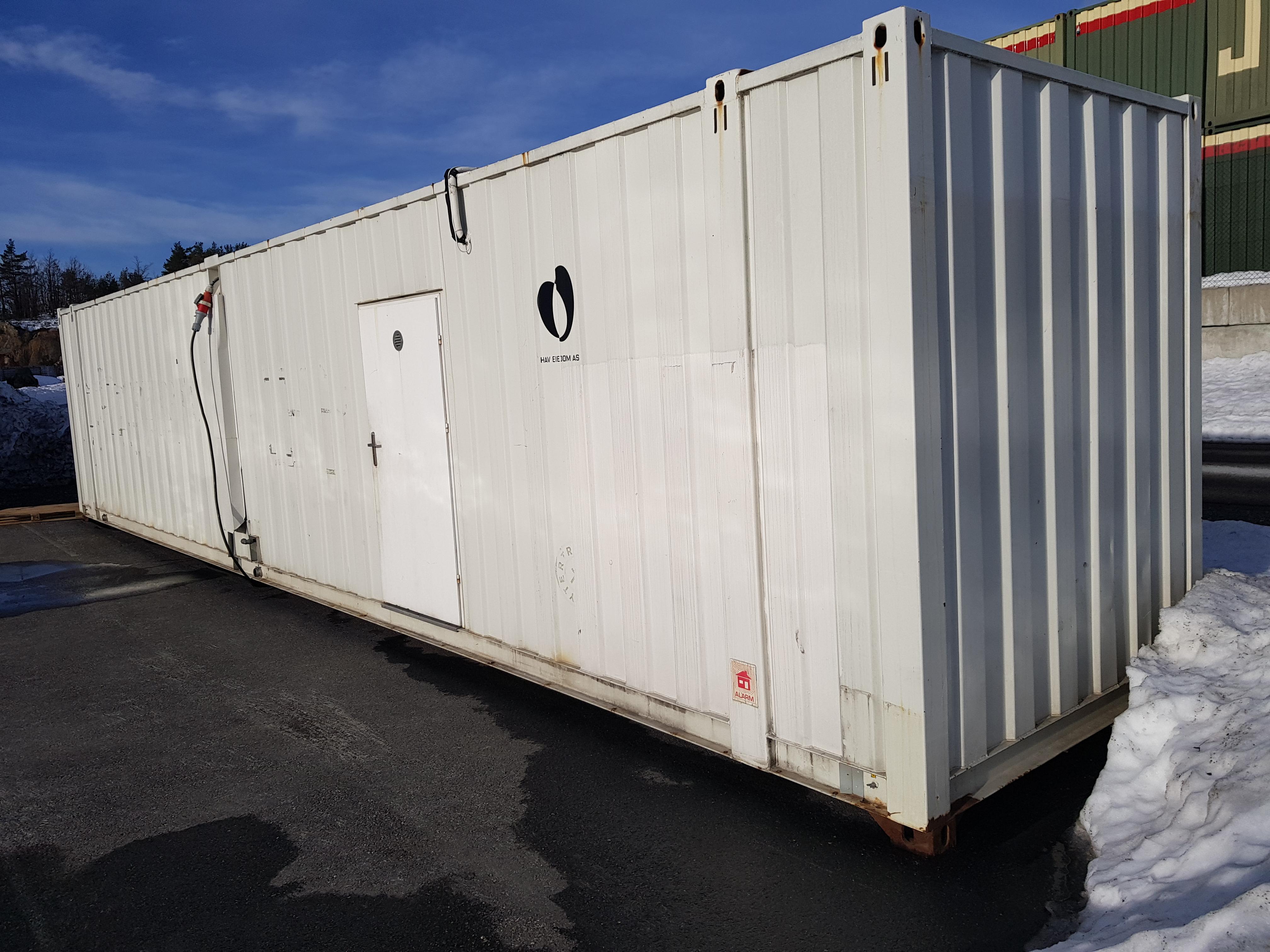 Kjøkken Container til teltet!