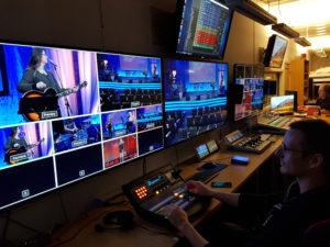 Pause i TV sendingene fra EFA-senteret!