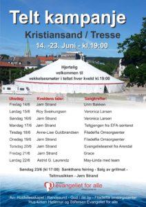 Teltkampanje i Kristiansand!