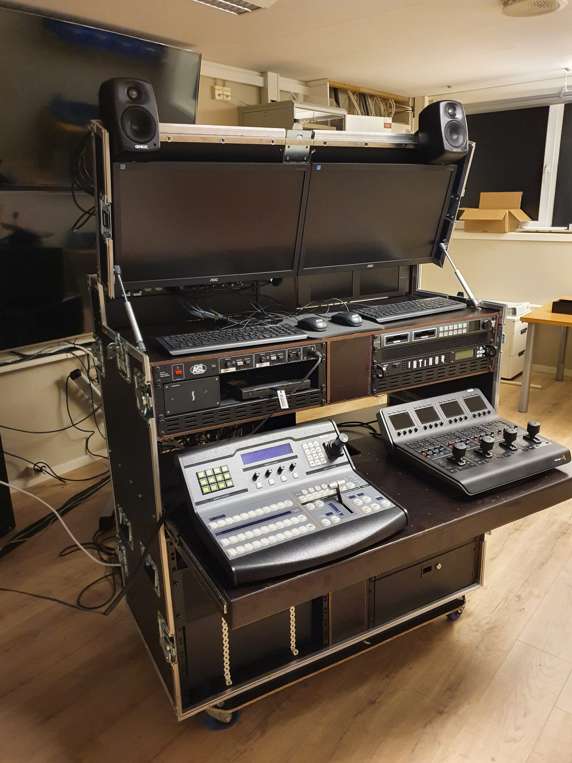 Mobilt TV studio!