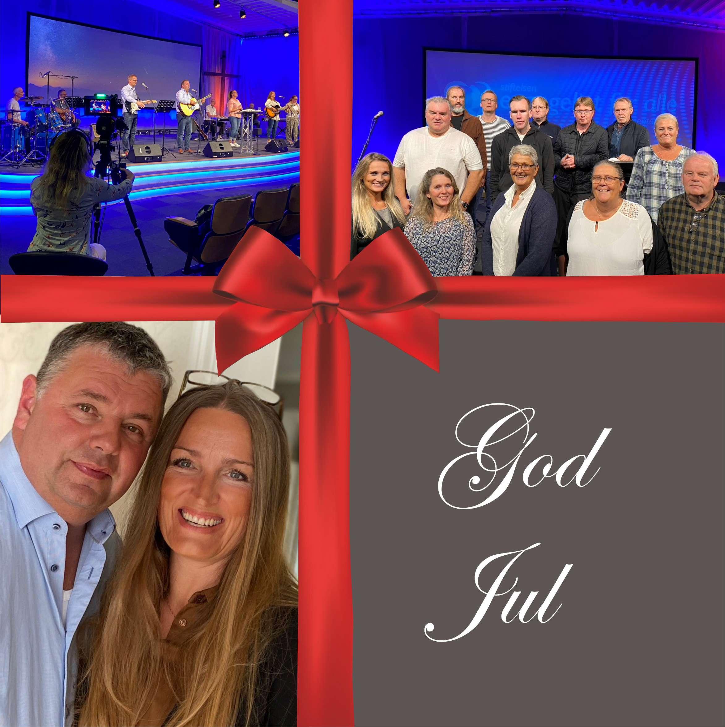 God Jul og velsignet nytt år!
