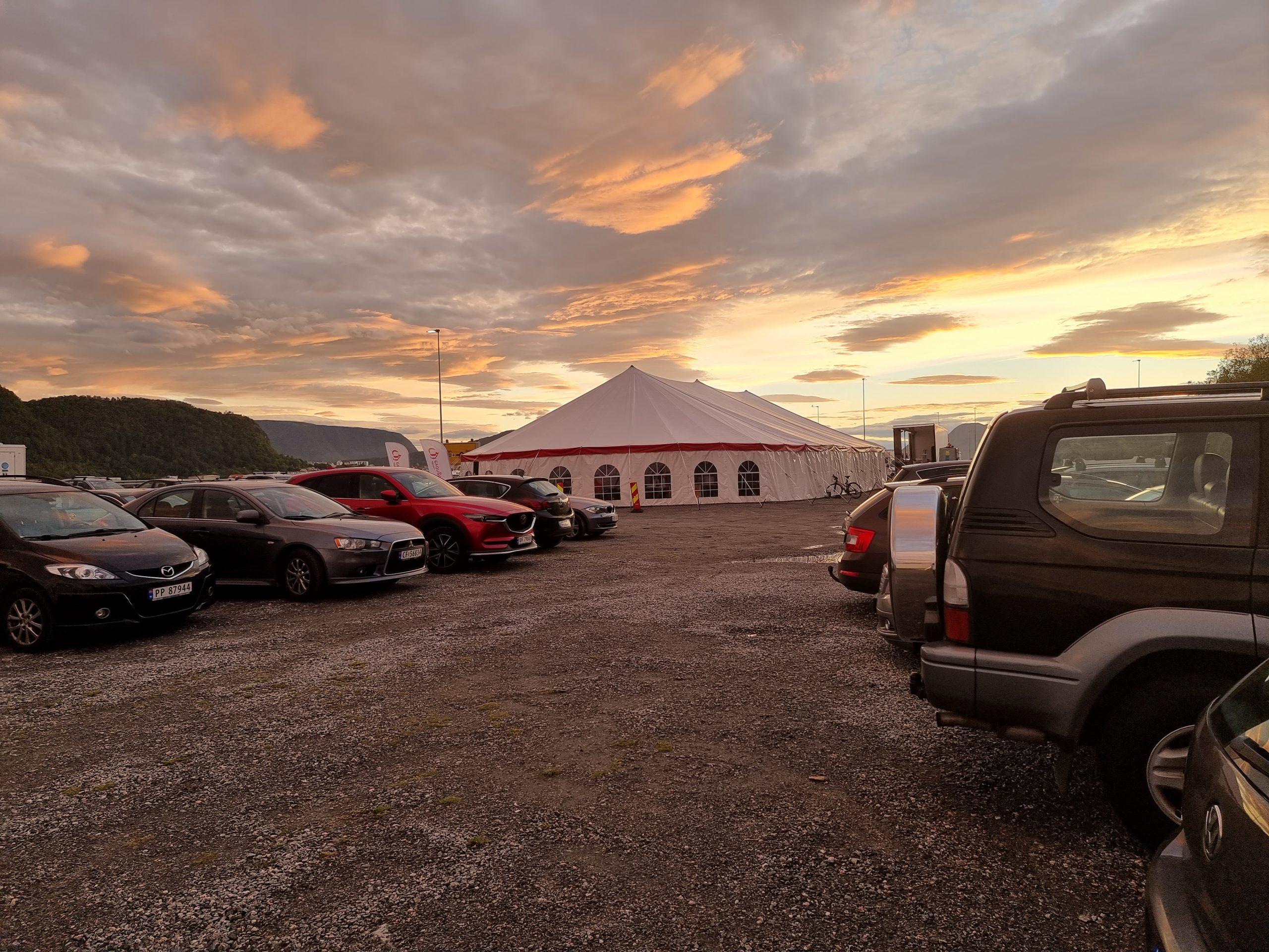 Herlige teltmøter i Ålesund